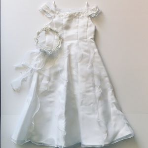 US Angels • 1st Communion/Flower Girl Dress